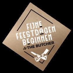 The butcher kerst